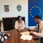 S-a semnat comntractul de comodat care pune la dispozitia CJARE a unei cladiri de pe strada Stefan Greceanu